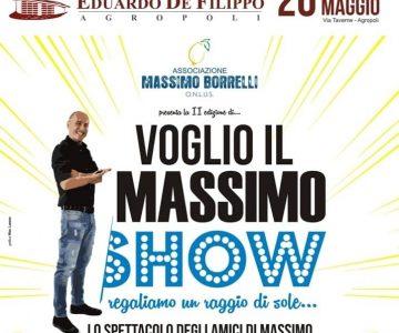 Voglio il Massimo Show, Pasquale Palma ne Parla in diretta