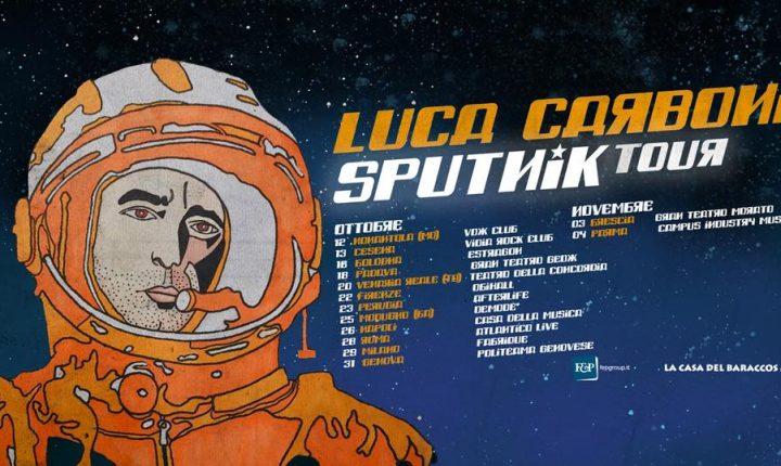 """Luca Carboni, presenta il nuovo disco """"Sputnik"""""""