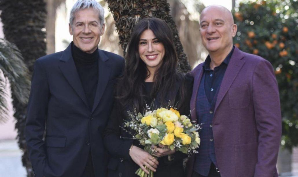 Claudio Baglioni, Virginia Raffaele e Claudio Bisio.