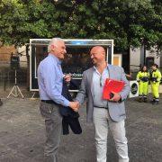 Sarno 2019: Confronto tra candidati a sindaco Giuseppe Canfora e Giovanni Cocca
